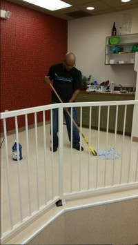 Commercial tile cleaning and waxing in Roswell
