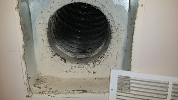 Before and After Air duct cleaning in Norcross, GA