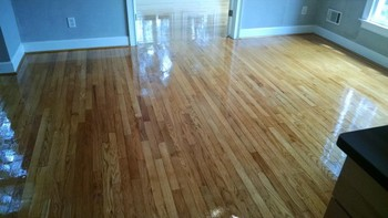 Wood floor cleaning by Clean Scene Pro
