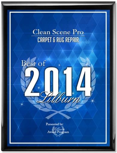 Carpet Cleaning award in GA
